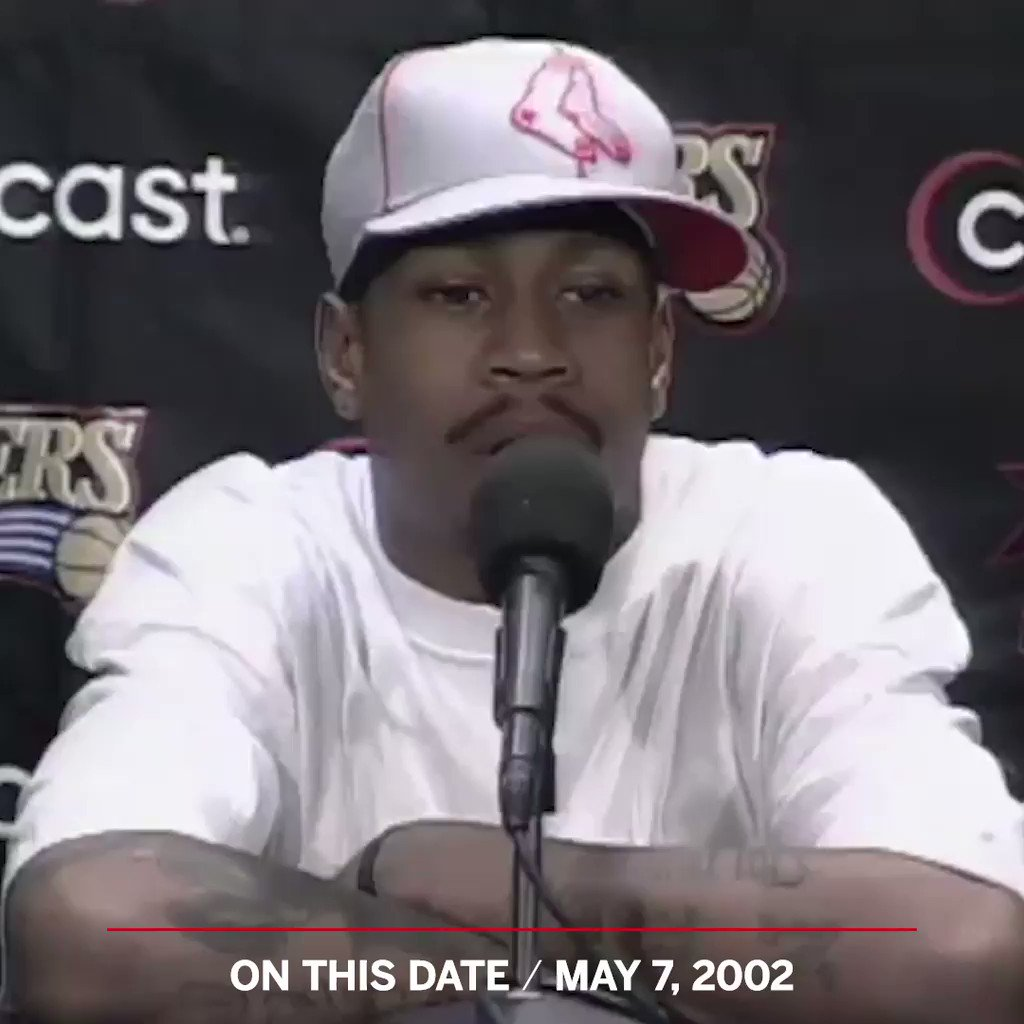 On This Date: In 2002, Allen Iverson talked about practice.