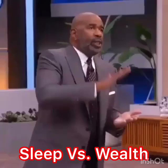Rich people don't sleep 8 hours a day.