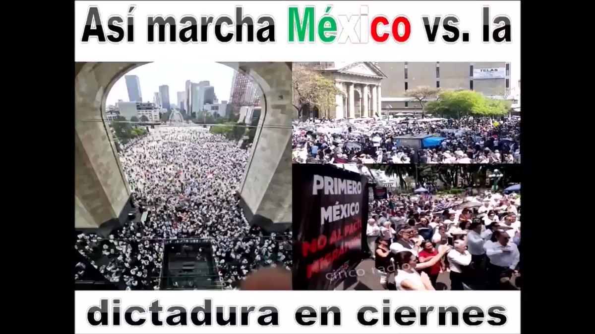 La satisfacción del trabajo bien hecho#MarchaContraAmlo #Marcha5DeMayo Por favor compártelo... Todo Mexico unido!