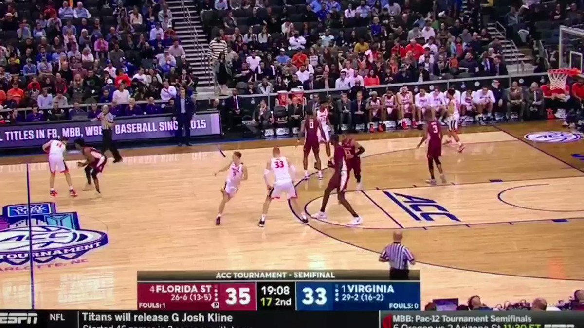 Working through Ty Jerome film. Maybe the best pick-and-roll passer in the draft at 65. Timing and delivery is off the charts. Thought Jerome, along with Ja Morant, was one of the best players at CP3 Camp during the summer. espn.com/nba/insider/st…