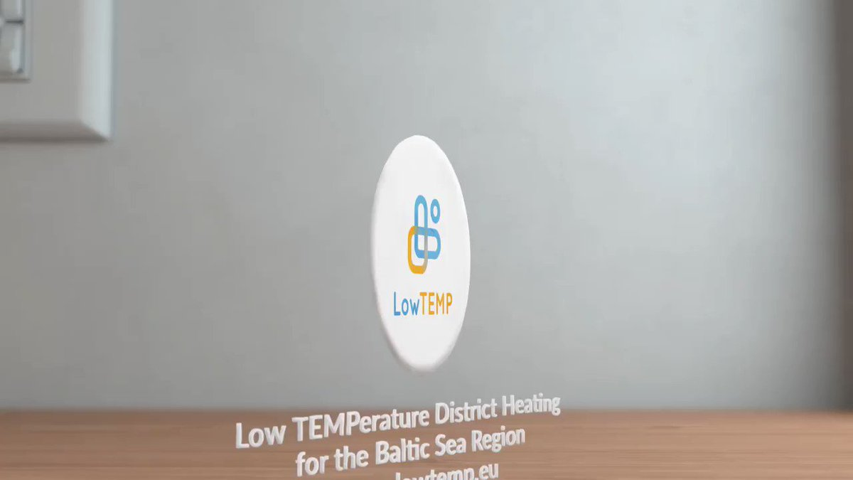 #Interreg is about pooling best solutions to, for example, save energy and reduce CO2 emissions. One example is low temperature district heating - check a video by @LowTEMPdh project to learn more! #MadeWithInterreg