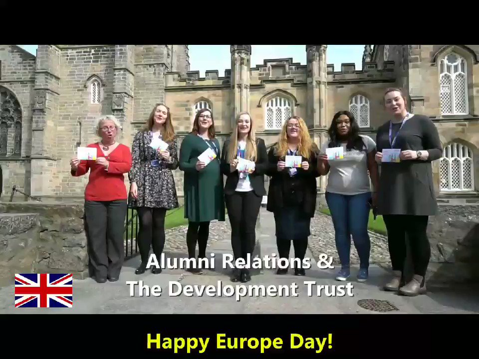 Happy #EuropeDay to our @aberdeenuni alumni and students across the continent! We're really looking forward to seeing European members of our #AbdnFamily at our #FromAbdn2Europe alumni events across the continent this week!