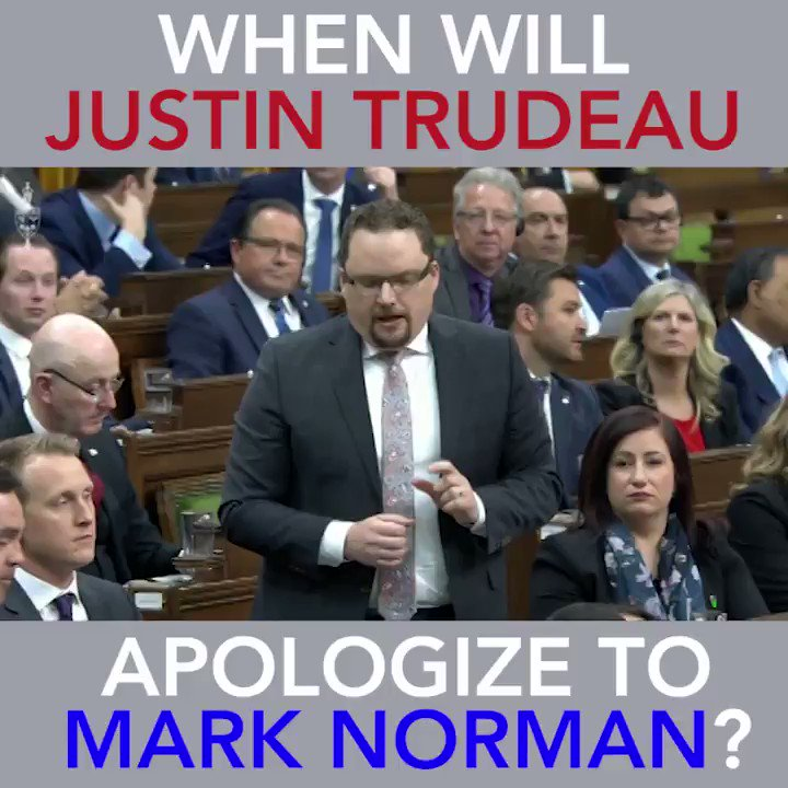 Why did the Prime Minister have no problem apologizing to a convicted terrorist but can't bring himself to apologize to Vice-Admiral Norman?  #cdnpoli