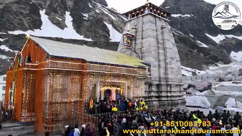 The divine doors opening ceremony of Kedarnath Dham #ChardhamYatra #TreksAroundChardham  #ChardhamPlus #IncredibleIndia #TravelItinerary #Devbhumi #Spiritual #ExploreTheUnexplored #mountains #Chardham2019 #Yamunotri #Gangotri  #Badrinath #Kedarnath