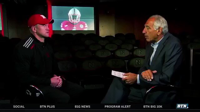 """Scott Frost on Blackshirts: """"There's a lot of characteristics that a Blackshirt represents to me and we're going to make all our guys earn those Blackshirts.""""   #FrostFriday 🎬: BTN"""