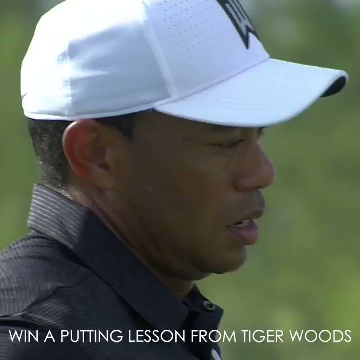 Help support my foundation and learn a thing or two from me about putting at the Hero World Challenge. Prizeo.com/tiger