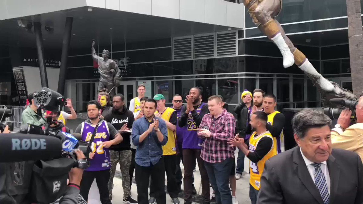 Lakers fans: We have the best player in the world and we STILL didn't make the playoffs? We've got to do something.  A bunch of middle aged men on a workday: