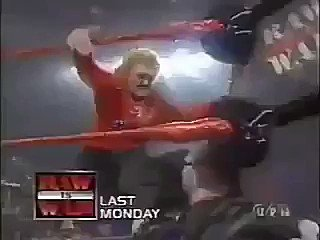 The Dudley Boys putting Mae Young through a table after she did the Bronco buster on Bubba Ray was peak attitude era 😭