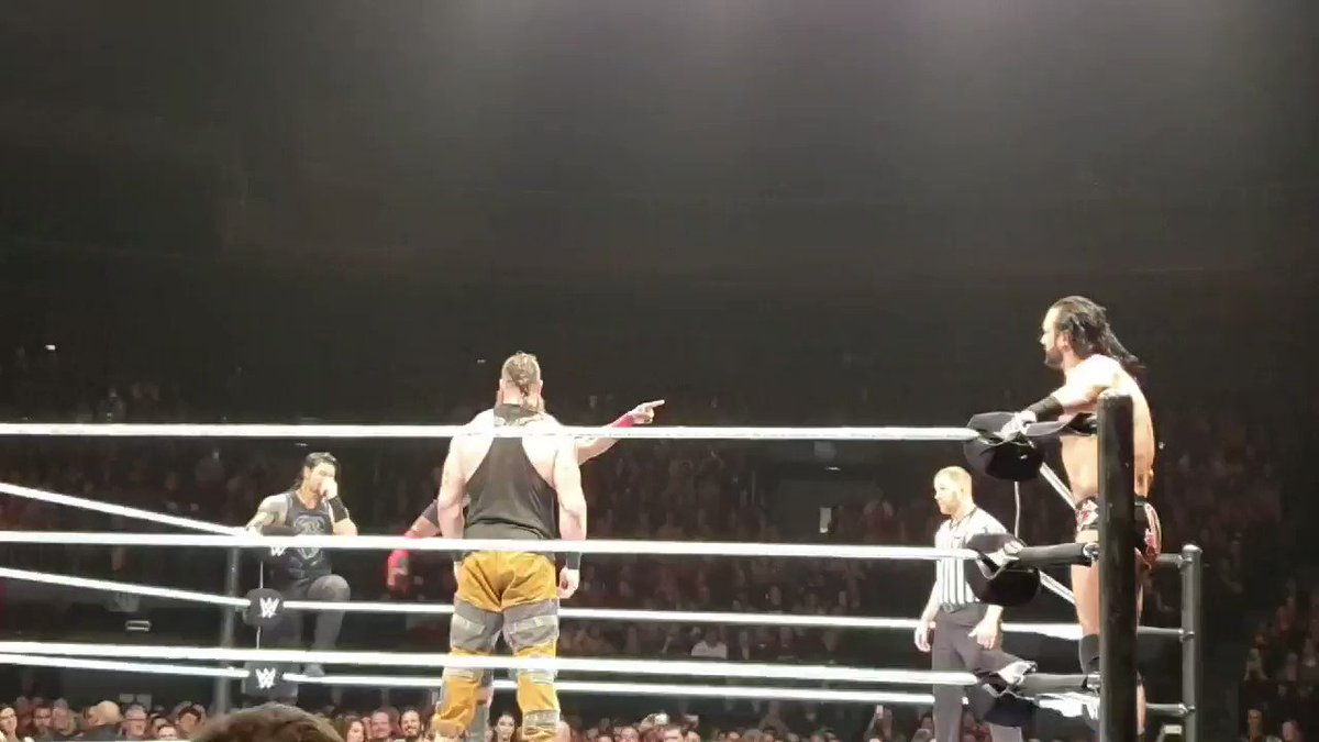 #WWEBrussels get these hands @BraunStrowman it was an honor to see you perform truly a beast among men
