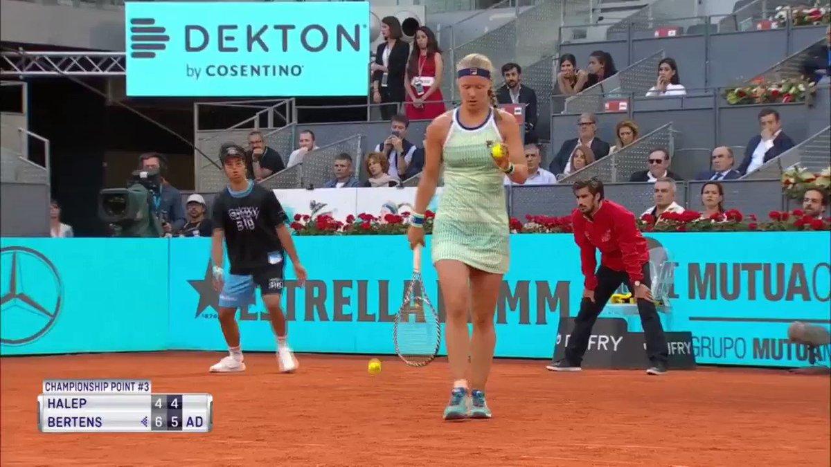 Kiki Bertens wint WTA Madrid 2019