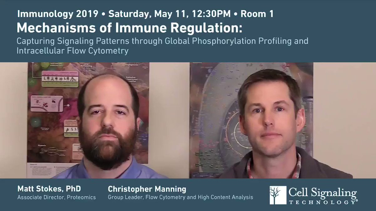 Grab your seat and water bottle before Room 1 fills up! Our workshop will show how small protocol changes can overcome many of the challenges of proteomic analysis and combined extra- and intracellular flow cytometry. Talk begins in 10 minutes at #AAI2019 https://hubs.ly/H0htMcn0