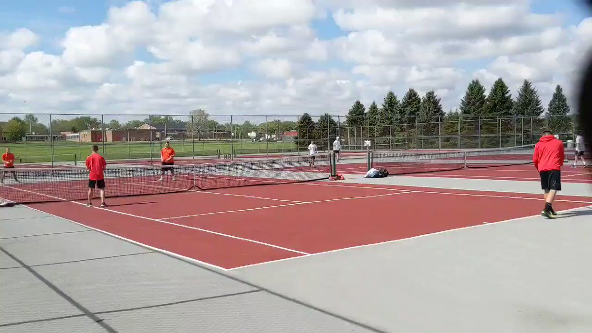 Image for the Tweet beginning: Shelby Btennis doubles team of