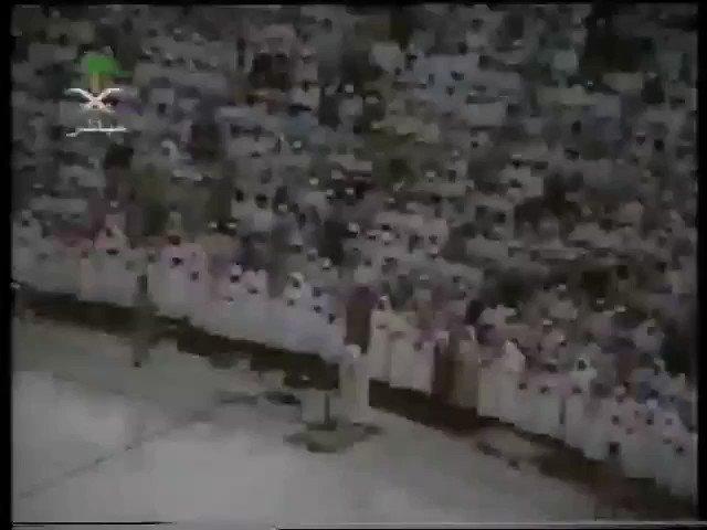 فيديو:تلاوة نادرة للشيخ أسامة خياط من الحرم المكي الشريف.