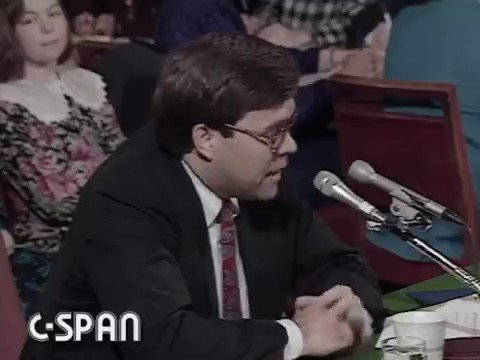 Barr in 1991: I will not lower my standards due to journalists or political pressure no matter what they say