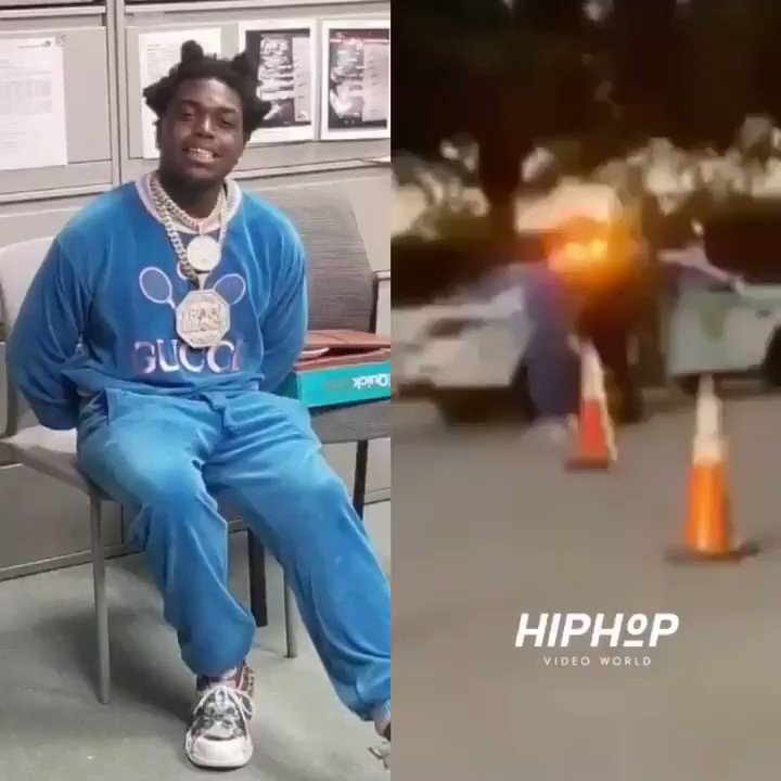 #KodakBlack has been arrested in Miami on state & federal firearm charges 👀🤦‍♂️