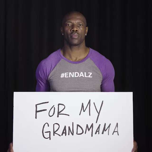 Many of our mothers and grandmothers have been affected by Alzheimers disease. Know that we are here for you today, and all other days, 24/7 at 800.272.3900 or alz.org #MothersDay #ENDALZ @terrellowens