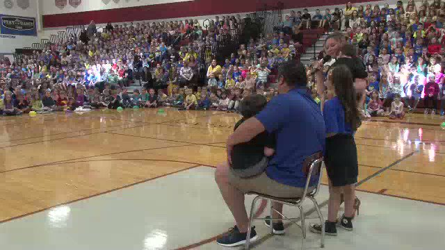 There was A LOT of excitement this past week in the high school gym @StarpointCSD. Hundreds of kids chanted and cheered to celebrate a HUGE fundraising effort for a family in their school community. See their amazing accomplishment on Daybreak Monday. @WGRZ