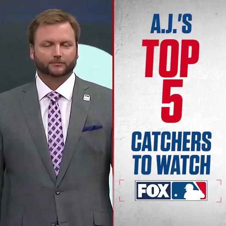 Here are A. J. Pierzynski's top 5 catchers in Major League Baseball.