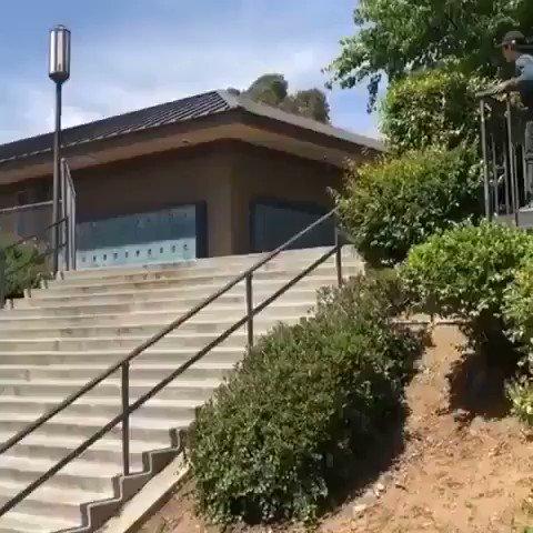 Some scooter kid did a backflip down El Toro OMFG