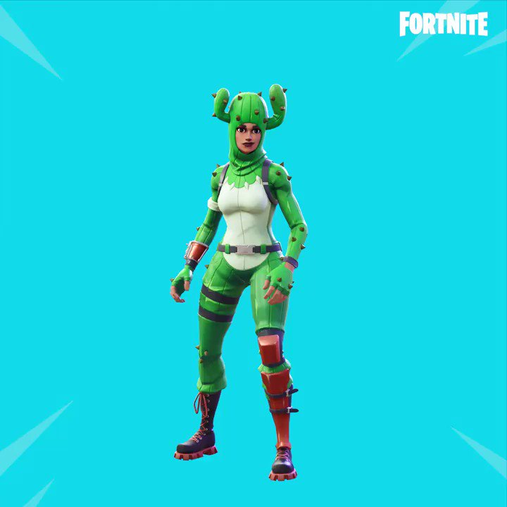 Don't get pricked!    The new Prickly Pose Emote is available in the Item Shop now!