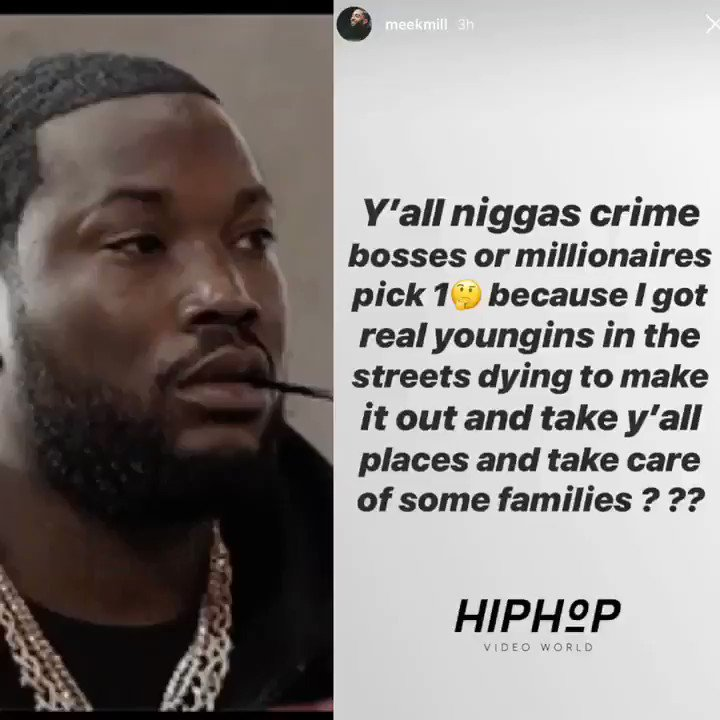 #MeekMill speaks 👀
