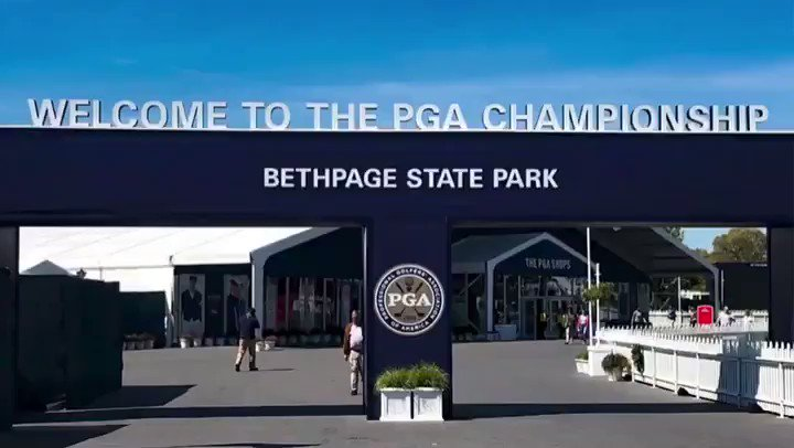 Image for the Tweet beginning: Welcome to the PGA Championship