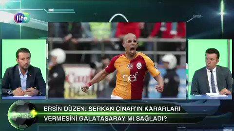 """Ersin Düzen kirli düzene ayar verirken.  Ersin Düzen bile kamuoyunda """"Galatasaray'a yapılan haksızlığa isyan etmiş."""