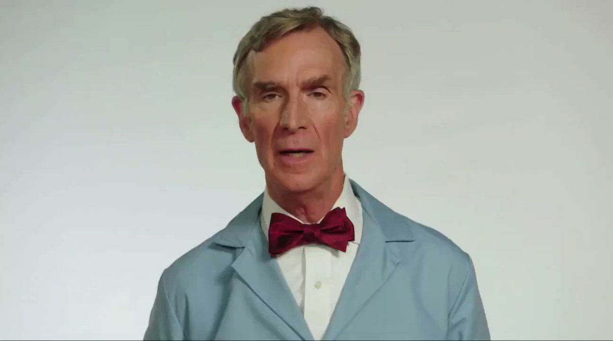 Just seeing this @BillNye video and I am thoroughly deceased 😂