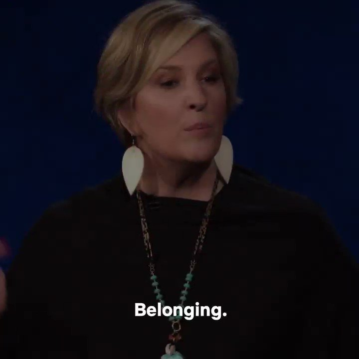 True belonging doesn't require you to change who you are; it requires you to be who you are.The Call to Courage on @netflix