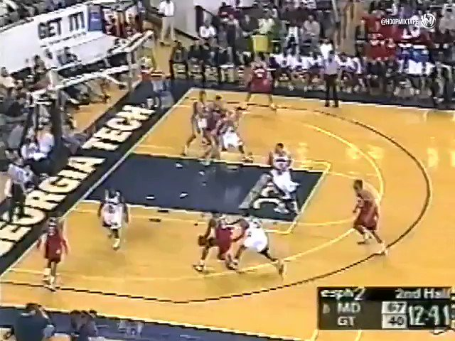 For a 63 guard @SteveFranchise3 dunked ...a lot. Here is Francis in college against Georgia Tech.