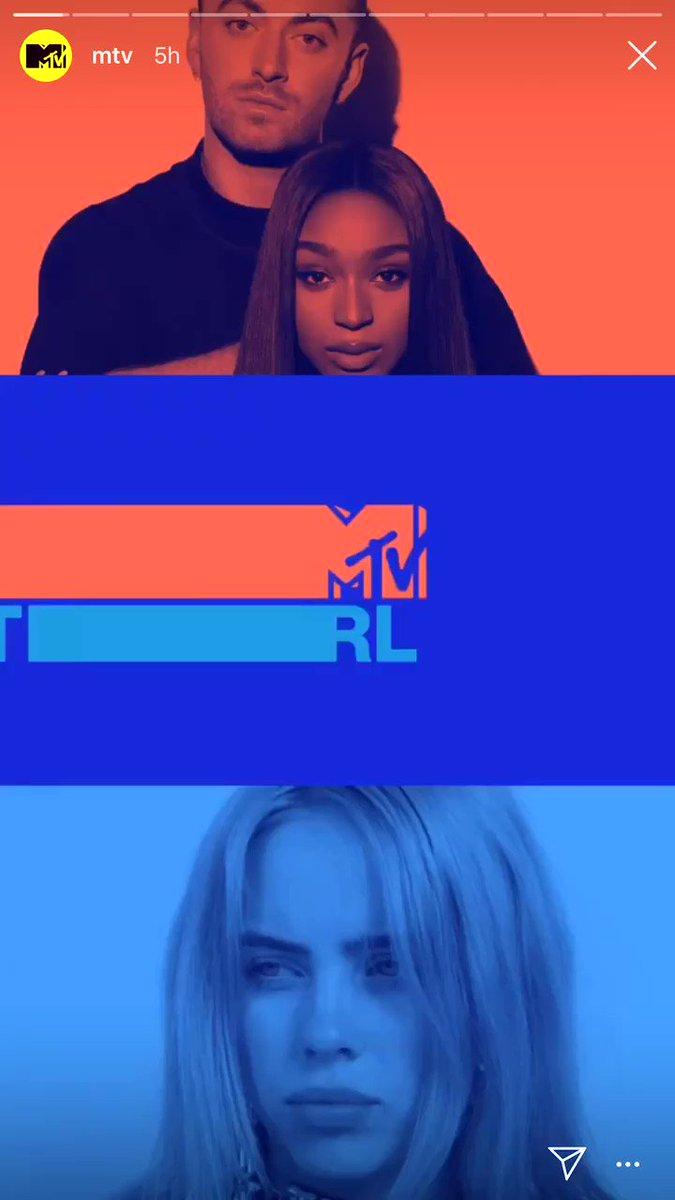 This week's @MTV @TRL Top 10 🔟 @DaBabyDaBaby *DEBUT* 9️⃣ @avamax *DEBUT* 8️⃣ @OffsetYRN & @iamcardib 7️⃣ @samsmith & @normani 6️⃣ @thegreatkhalid 5️⃣ @ArianaGrande 4️⃣ @billieeilish 3️⃣ @PostMalone & @goSwaeLee 2️⃣ @jonasbrothers 1️⃣@taylorswift13 & @brendonurie