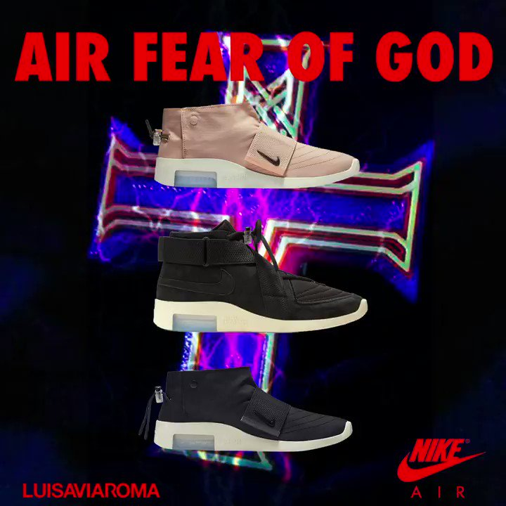 purchase cheap 94b0b 61a09 nike air x fear of god raid amp nike air x fear of god moccasin drop 17 may  14 00 gmt 2 exclusively in lvr sne