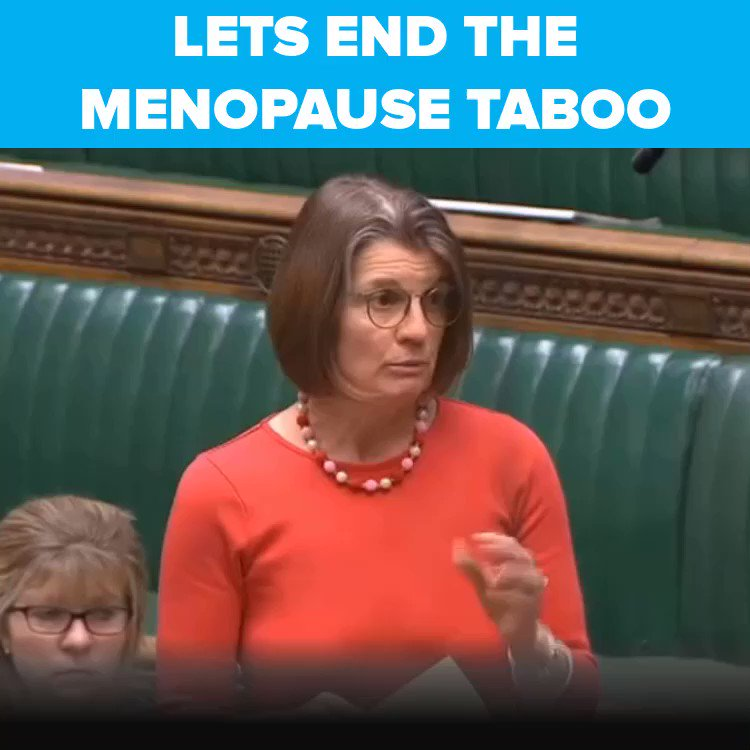 Last night I congratulated @BBCBreakfast on their groundbreaking #BBCmenopause campaign. Many of us are working to help more women access the treatment they need at the right time @mymenopausedr @Dianedanz @positivepauseuk @LizEarleMe