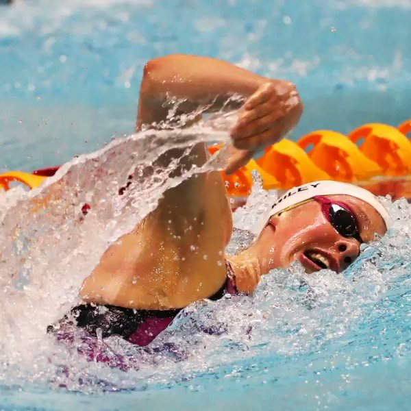 """""""No one can bug you or get in your head. It's just you and the water."""" @KeriannePayne  As well as being an invaluable life-skill there are loads of physical and #mentalhealth benefits of #swimming Give it a go http://bbc.in/2GwmjZ4 #GetInspired #WaterWellbeing @STA_HQ"""