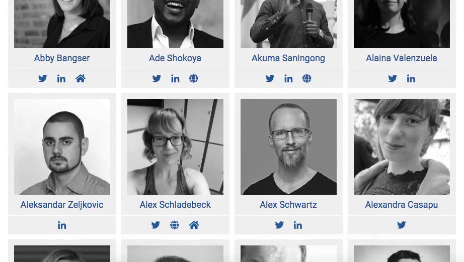 🌎 We are happy that 124 speakers from all around the world will share their knowledge, experiences and will inspire our community at the 11th edition of the #AgileTD set for Nov 03-08, 2019, in Potsdam, Germany.  ➡️ Meet the speakers here: https://agiletestingdays.com/2019/speakers/