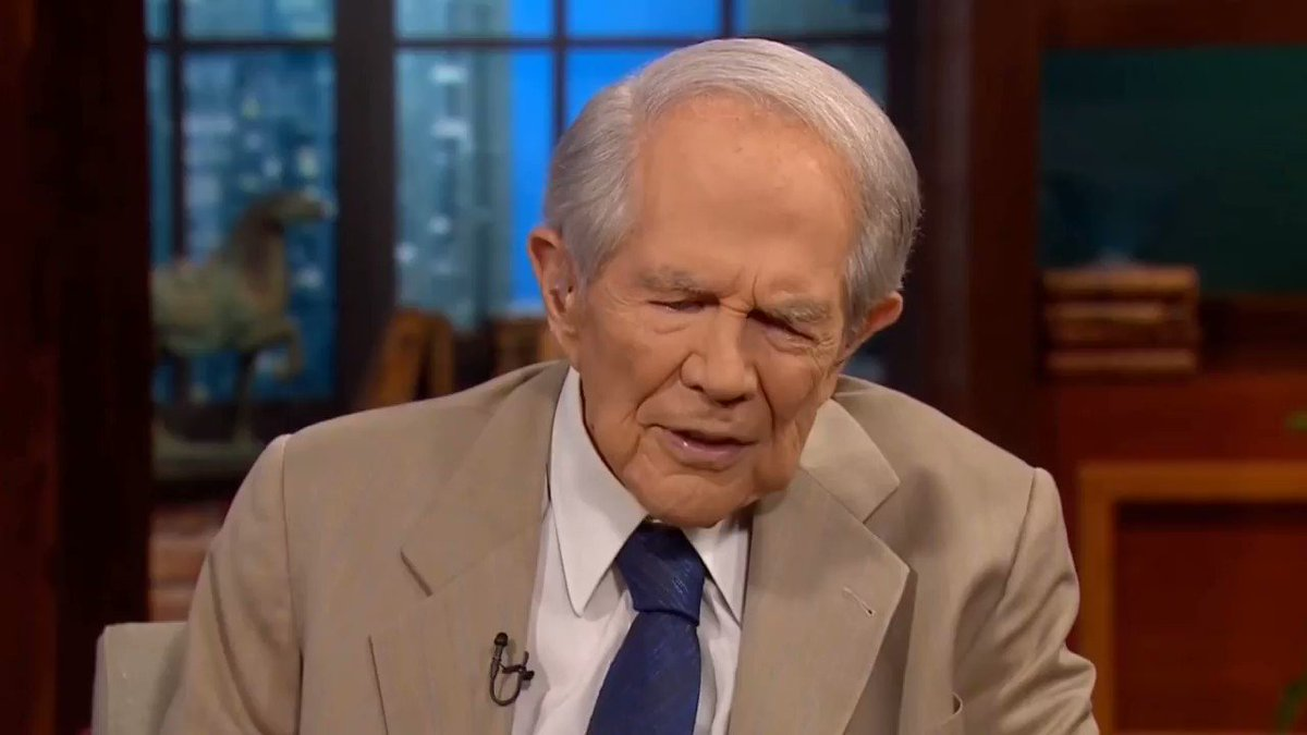 Holly Figueroa O'Reilly's photo on Pat Robertson
