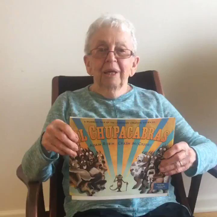 I was even more excited about the #TBABks nomination than I was about this totally unbiased endorsement from my 92 year old grandmother.