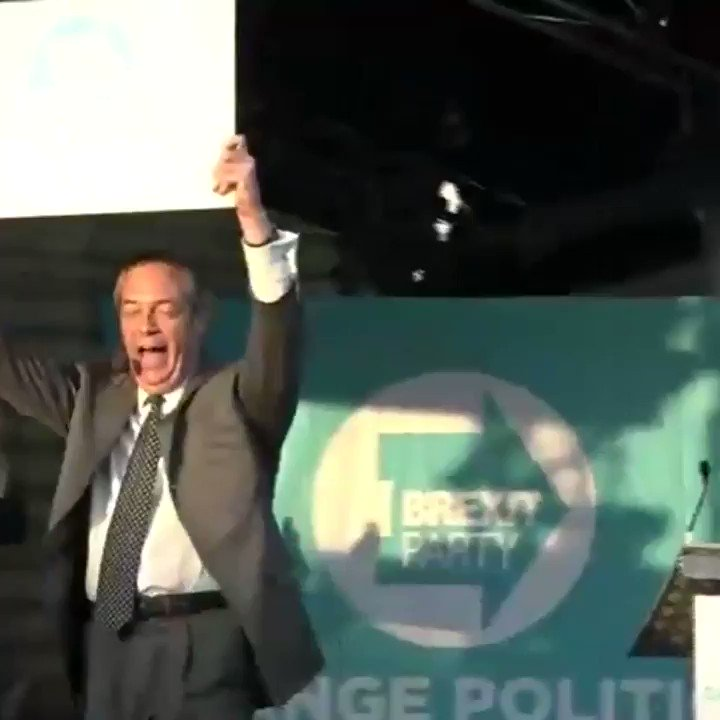 "WATCH | @Nigel_Farage: ""Democracy can only work when those that lose are prepared to accept the result... many in our establishment have done everything they can to overturn the greatest democratic exercise in the history of our nation - and it is a complete and utter DISGRACE!"""
