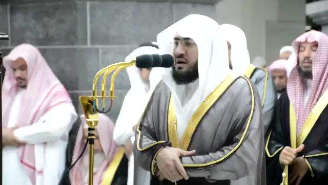 فيديو:تلاوة خاشعة للشيخ #بندر_بليلة من صلاة التراويح لليلة 11 رمضان.