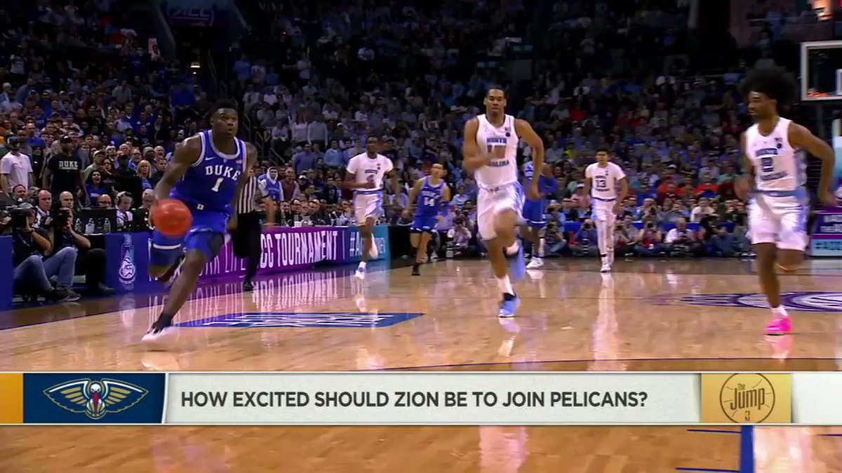 .@WindhorstESPN explains the unlikely, yet real possibility of Zion returning to Duke instead of entering the NBA.