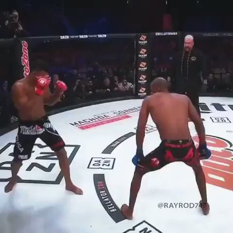 """Douglas Lima knocks out Michael """"Venom"""" Page with the help of Mjolnir. Sick edit by @rayrod747."""
