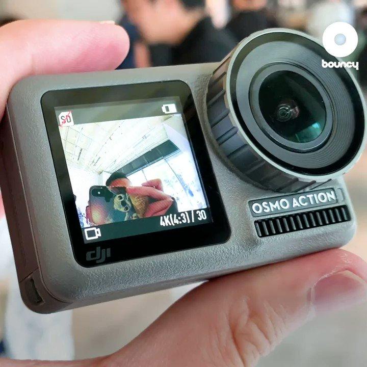 前も後ろも映る! @DJIJAPAN が同社初のアクションカメラ「OSMO ACTION」を発表!そんな今日は #旅の日 。この夏、 #OsmoAction を持って素敵な旅をしませんか?✨スペックはこちら👉#旅の日 #DJI #OsmoAction