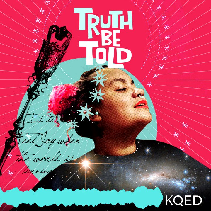 The first episode of @TruthBeToldShow is finally here and we are starting off 🔥🔥🔥with @adriennemaree talking about how we need to reclaim our bodies, pleasures and *joy.* #woc #POCs   Listen: http://bit.ly/TBTKQED