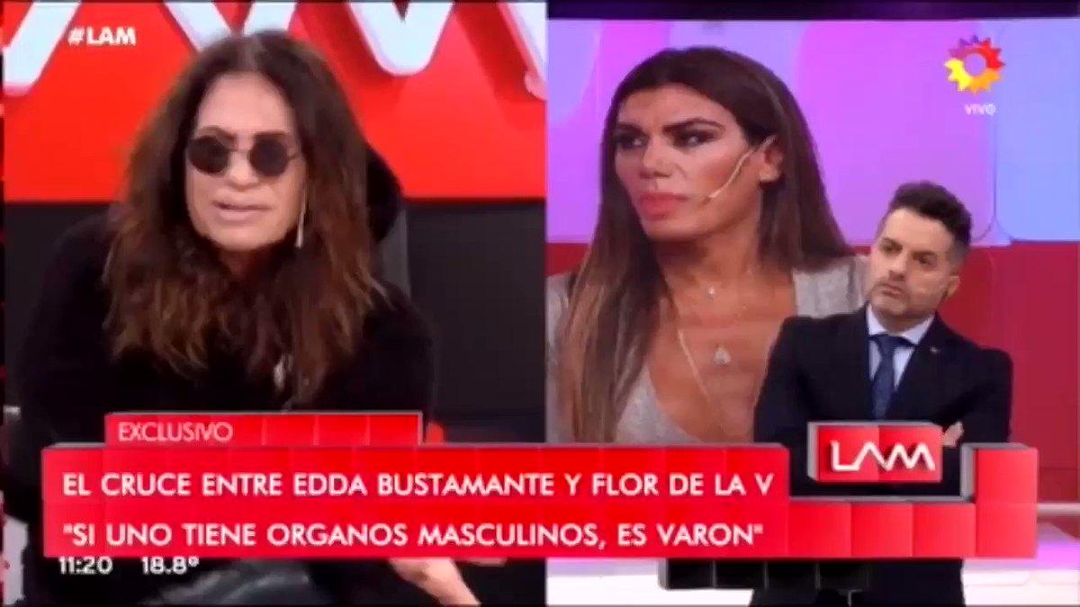 """¿SINCERICIDIO O NINGUNEO?  Edda Bustamante: """"No se quién es @lizytagliani"""" 🙈 #LAM @AngeldebritoOk @andretaboada @eltreceoficial"""