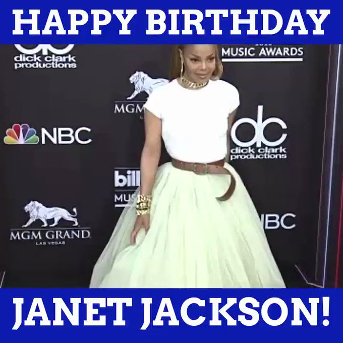 Happy Birthday, Ms. Jackson!  What is your favorite Janet Jackson song?