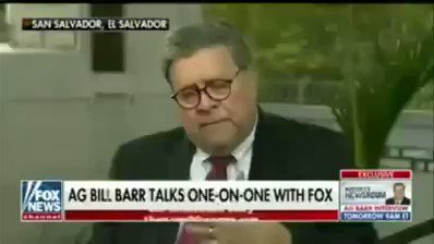 AG Barr: If we're worried about foreign influence, for the very same reason, we should be worried about whether government officials abused their power and put their thumb on the scale.
