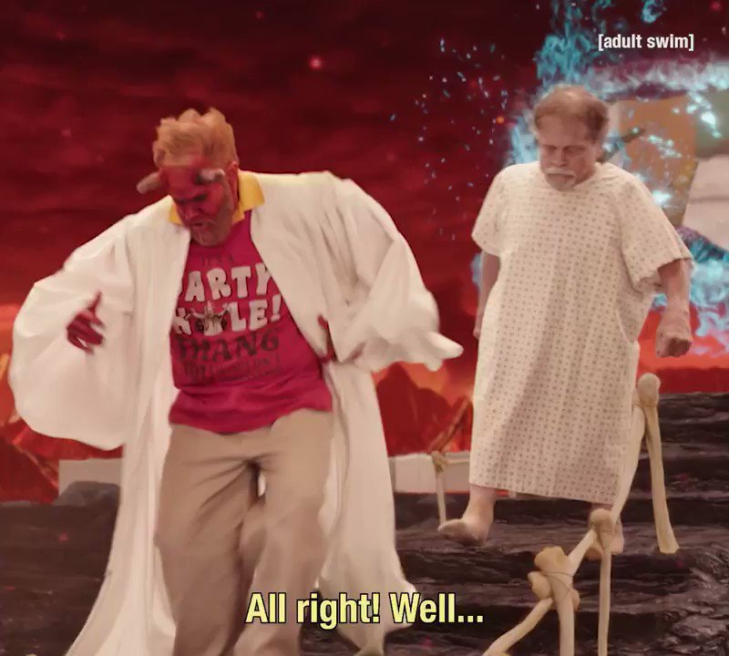 HELL YES: watch two new episodes of YOUR PRETTY FACE on http://adultswim.com. watch 'em all weekend, OVER AND OVER AND OVER.  http://www.adultswim.com/videos/your-pretty-face-is-going-to-hell/the-party-hole…