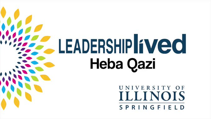 """Leadership lived: Alum Heba Qazi helped to organize """"The Future is Female"""" event that brought hundreds of @SchoolDist186 middle school girls to #UISedu. She now plans to attend law school!  ➡️ Read more: https://t.co/Co7uWHb15i ➡️ Apply to UIS today: https://t.co/PcJiGo3xWP https://t.co/wNDCUNGAx7"""