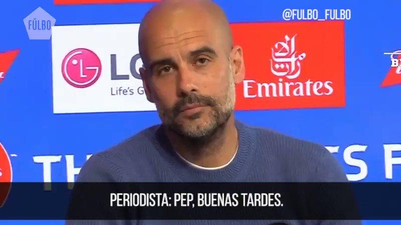 """""""Las mujeres lo han hecho"""", Pep Guardiola."""