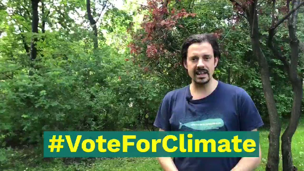@GreenpeaceAT @Sebi_Th @nunukaller @jasminduregger @JensKarg @lukas_hammer @VolkerPlass Ich gehe am 26. Mai wählen, weil es um unser aller Zukunft geht. Warum geht ihr wählen @_mtiemann @faizaoulahsen @corinnamilborn @mariamayrhofer @SBohrnMena? #VoteForClimate #Europawahl2019 #VoteChallange